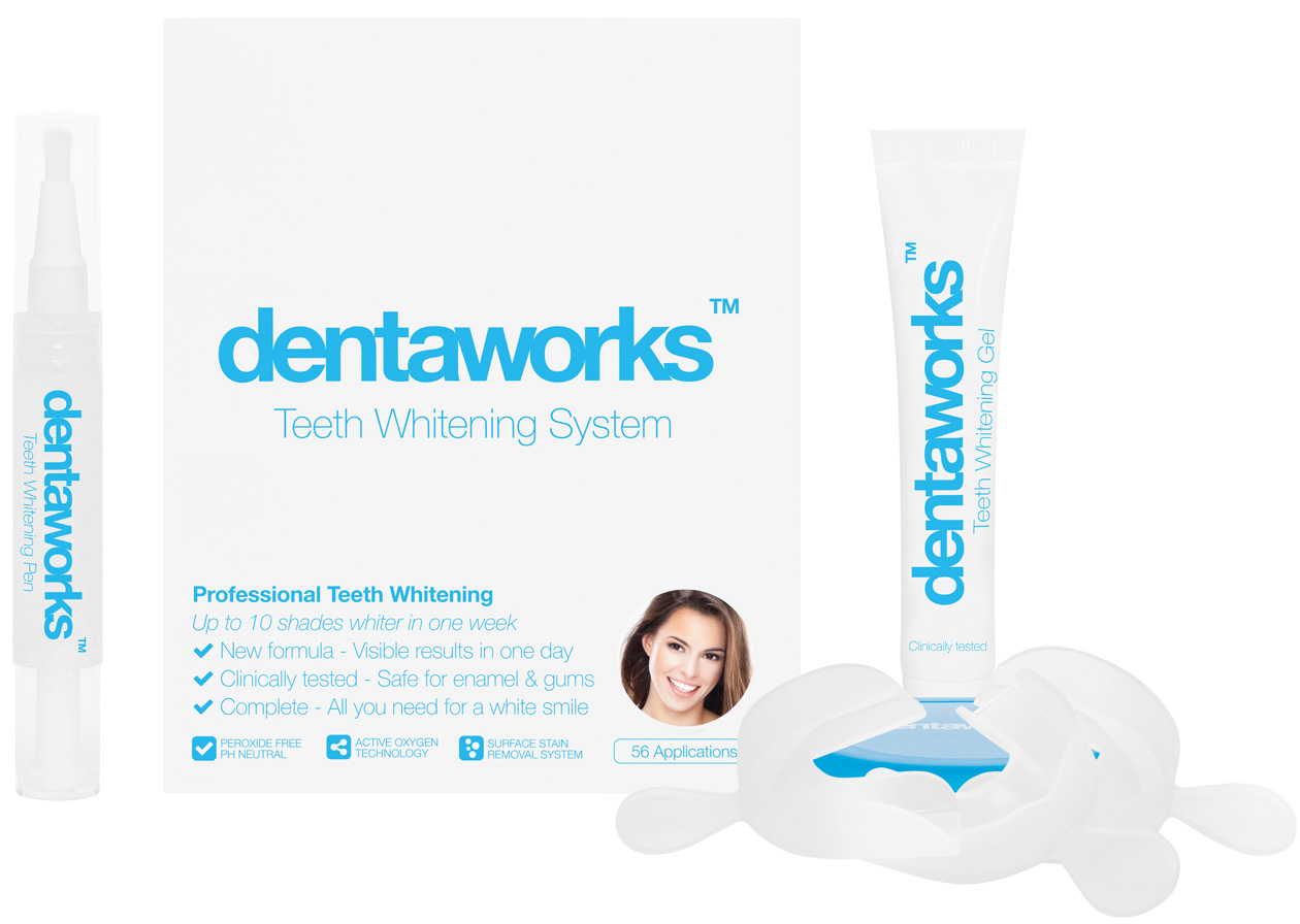 Dentaworks Plus with Tooth Whitening Pen